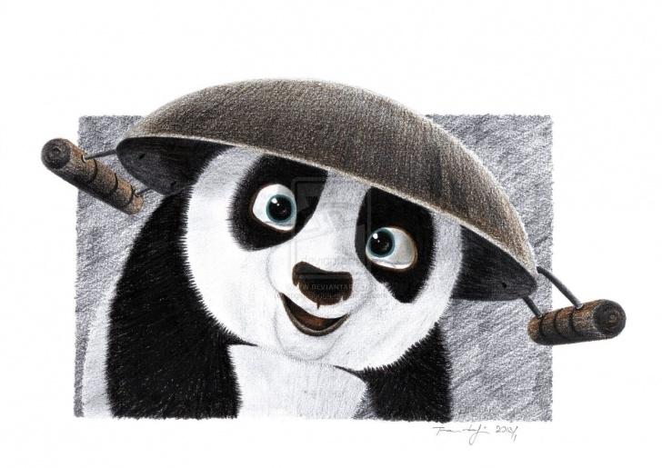 Most Inspiring Panda Pencil Drawing Lessons Kung Fu Panda Pencil Sketch | Complete Drawing Tutorial And Manual Pictures