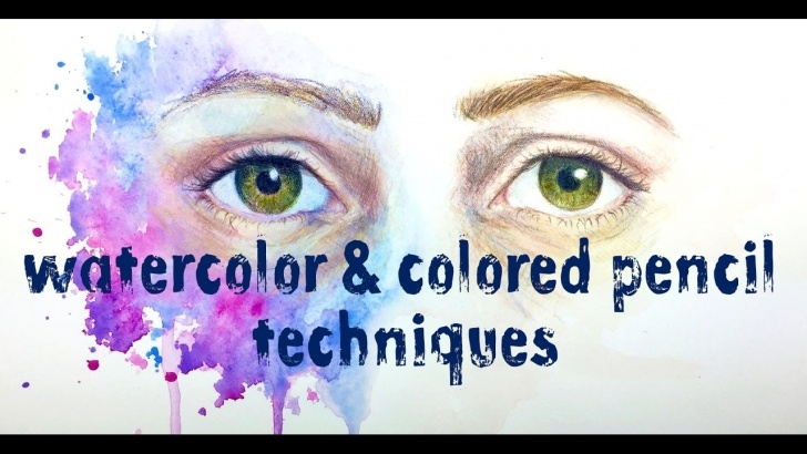 Most Inspiring Pencil And Watercolor Tutorials Watercolor And Colored Pencil Techniques Picture