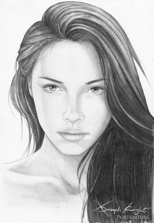 Most Inspiring Pencil Drawing Of Girl Face Tutorials Realistic Girl Sketch At Paintingvalley | Explore Collection Of Pictures