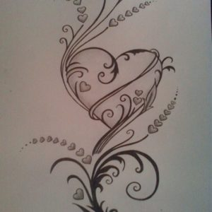 Most Inspiring Pencil Drawings Of Roses And Hearts Tutorial Pencil Drawings Of Hearts Drawings Of Roses And Hearts Hearts And Pictures