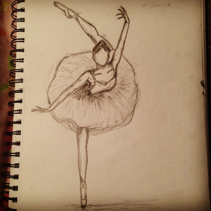 Most Inspiring Pencil Sketch Of Dancing Girl Techniques Never Stop Dancing ( Sketches Of A Bored Girl) | Sketches Of A Bored Pic