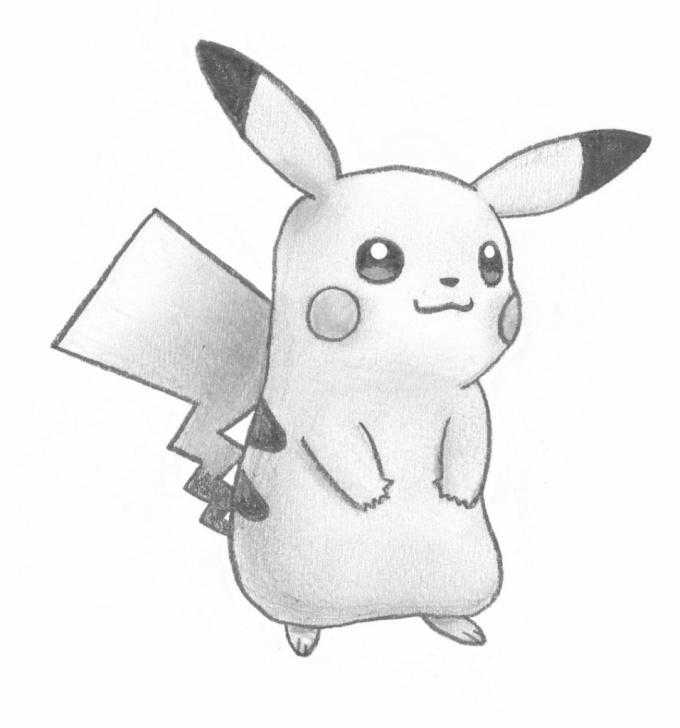 Most Inspiring Pikachu Pencil Drawing Tutorial Pikachu Pencil Sketch And Drawing Of Pikachu Pikachu Drawing In Image