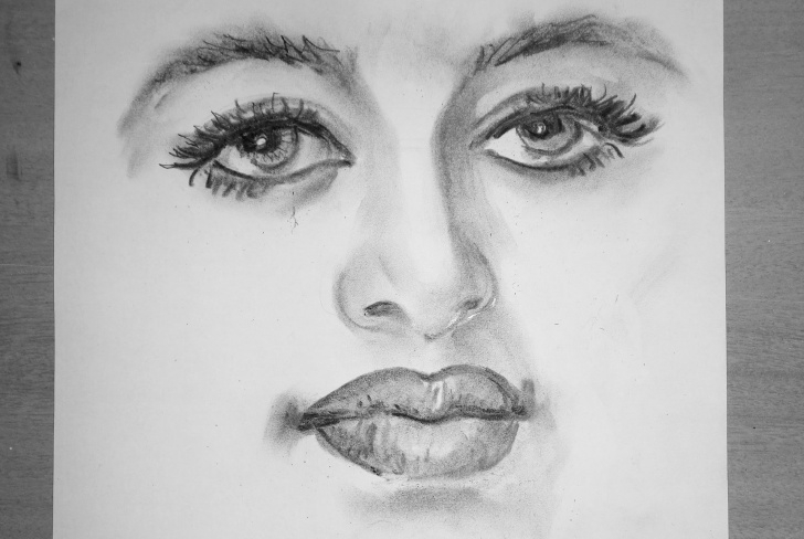 Most Inspiring Portrait Drawing For Beginners Lessons Portrait Sketch Tutorial At Paintingvalley | Explore Collection Pictures