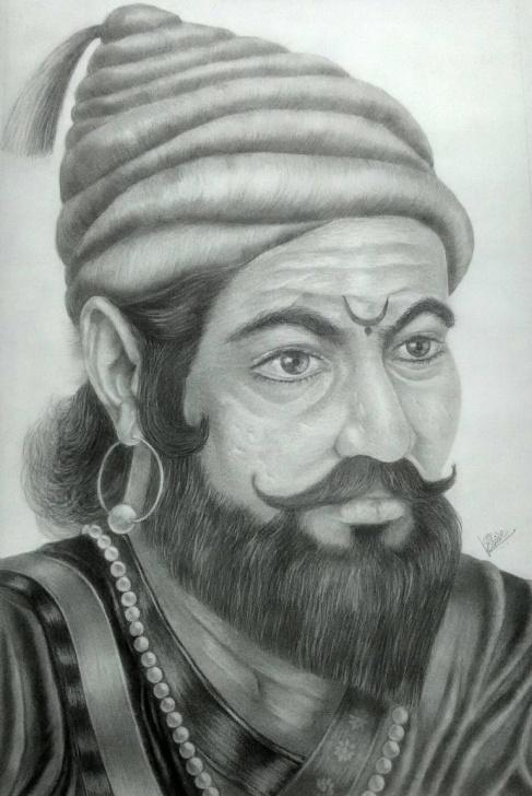Most Inspiring Shivaji Pencil Sketch Courses Shivaji Maharaj Sketch At Paintingvalley | Explore Collection Of Photos