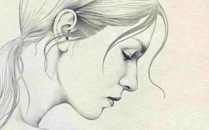 Most Inspiring Simple Pencil Sketch Of Girl Courses Simple Sketch Of Girl Face Pencil Sketch Girl Face Rhdrawingslycom Pic