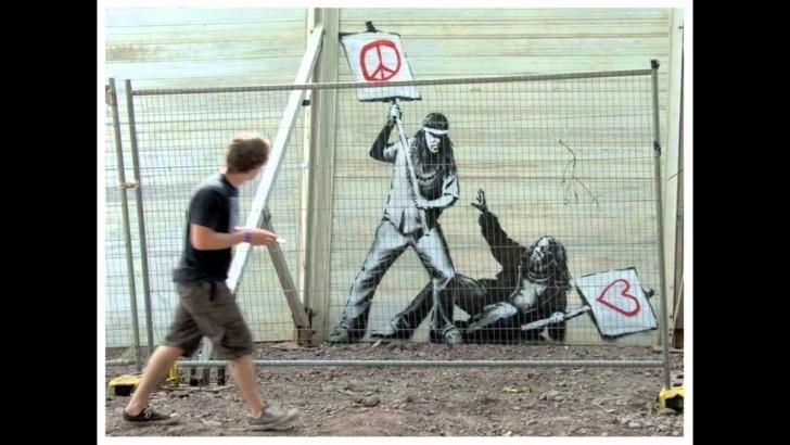 Most Inspiring Stencil Street Artists Techniques for Beginners Street Artist Banksy - 2010 Graffiti Stencil Art - Warholian Photos