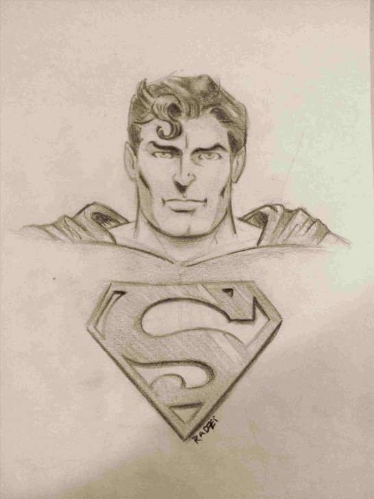 Most Inspiring Superman Pencil Drawing for Beginners Superman Drawing In Pencil At Paintingvalley | Explore Images