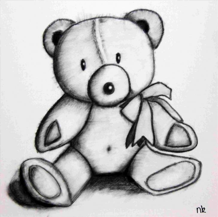 Most Inspiring Teddy Bear Drawings Pencil Courses Sketch Of Rhdrawingforkidscom Teddy Teddy Bear Drawings Pencil Bear Photos