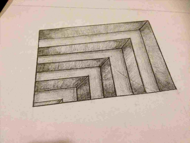 Nice 3D Drawing Pencil Easy Step By Step Tutorials How To Draw 3D Pencil Drawing Step By Step - Gigantesdescalzos Pictures