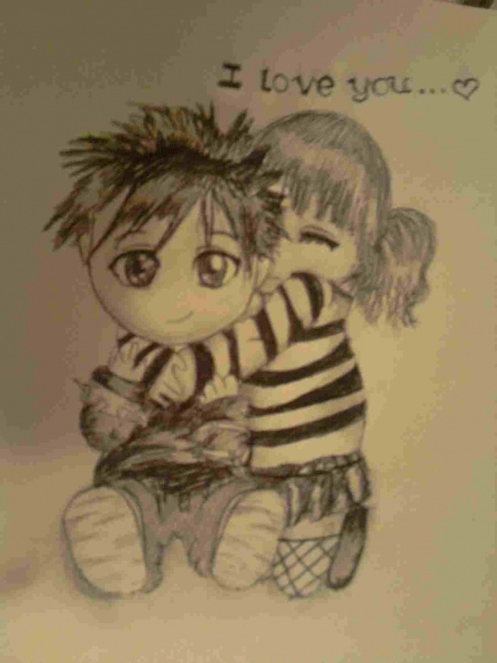 Nice Beautiful Sketches Of Love Free Pencil Drawings Of Love Beautiful Sketches Miss You Easy Drawings Pic