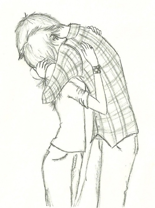 Nice Best Couple Sketch Ideas Drawing Pencil Arts Rose Images - Drawingsketch Photo
