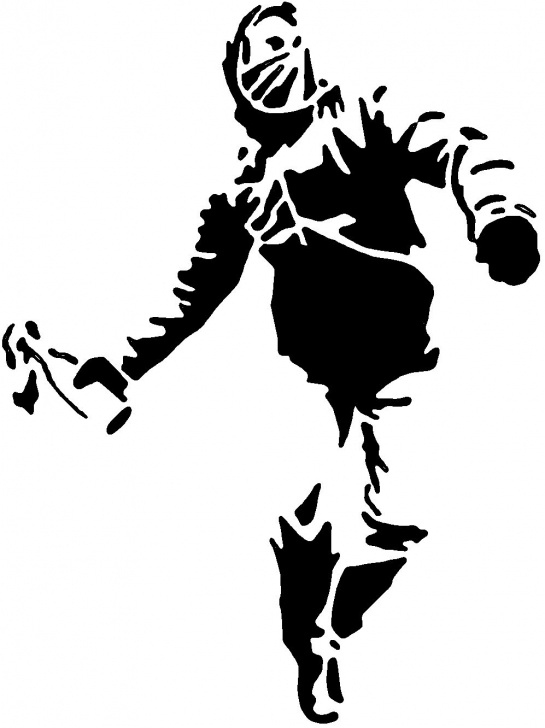 Nice Black And White Stencil Art Tutorial Street Art Stencil Templates Street Art And Graffiti Stencils Pics
