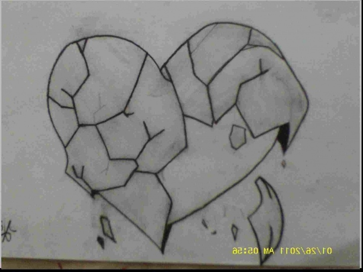 Nice Broken Heart Pencil Sketch Free Broken Heart Sadness Pencil Sketch Photos