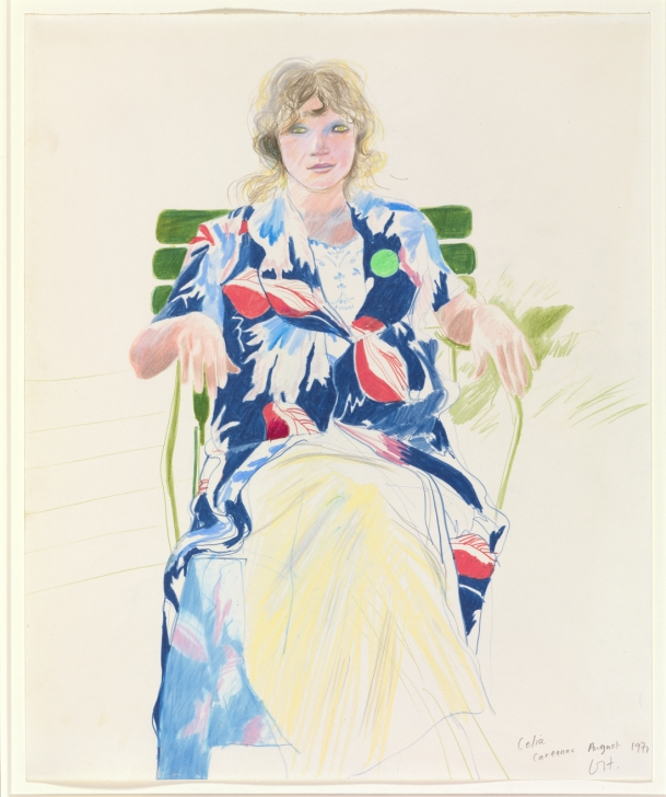 Nice David Hockney Pencil Drawings Ideas National Portrait Gallery To Stage First Major Show Of David Photo