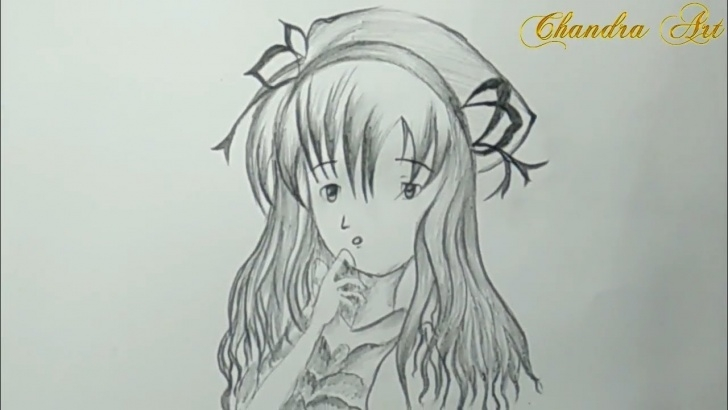 Nice Drawing Anime Pencil Courses Cool Pencil Drawing - How To Draw Anime Step By Step #easy Picture