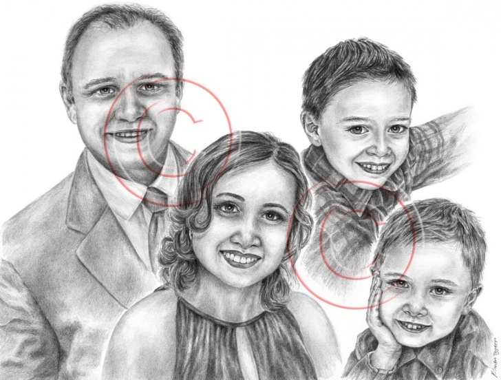 Nice Family Pencil Drawing Tutorials Pencil Artist Kelli Swan | Custom Portraits In Black & White: Pets Images