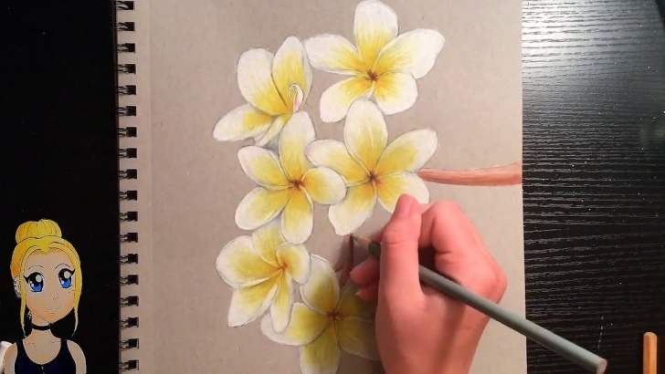 Nice Flower Colour Pencil Drawing Lessons How To Draw Realistic Flowers! With Colored Pencils Photo