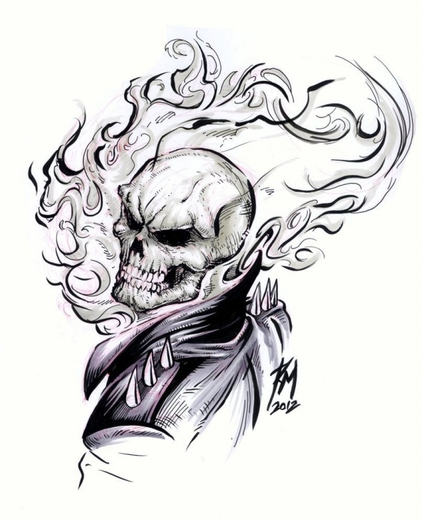 Nice Ghost Rider Pencil Sketch Ideas How To Draw Ghost Rider Cartoon - Google Search | Drawlings | Ghost Photo