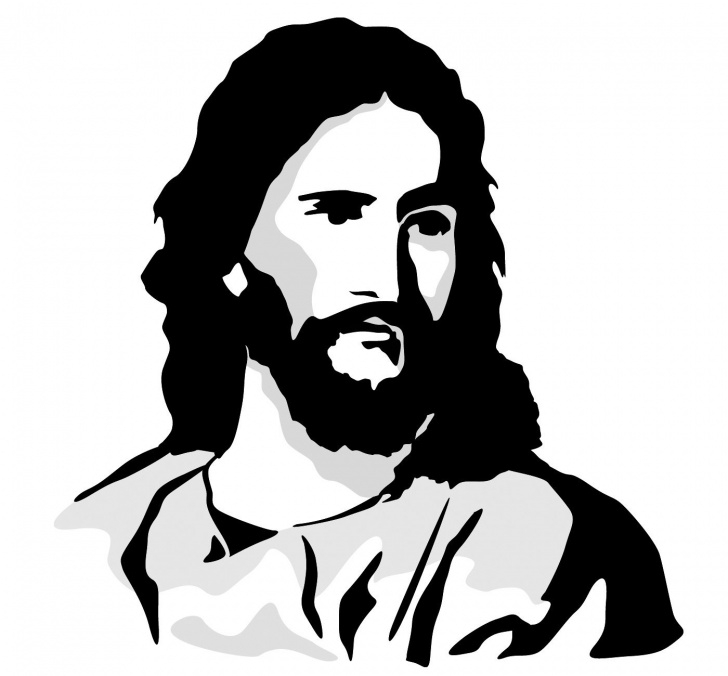 Nice Jesus Christ Stencil Art Ideas Black And White Free Clip Art Of Jesus Christ - Yahoo Search Results Image