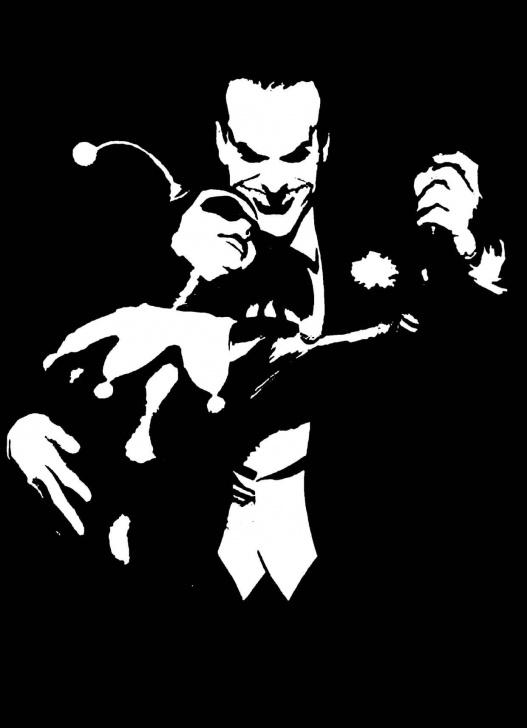Nice Joker Stencil Art Free Stencil Joker - Taringa! | Artwork | Siluetas, Estarcido, Grabado En Photo