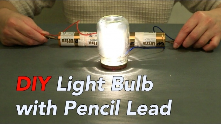 Nice Lightest Pencil Lead Techniques for Beginners Interesting Light Bulb Experiment Using Pencil Lead Pictures