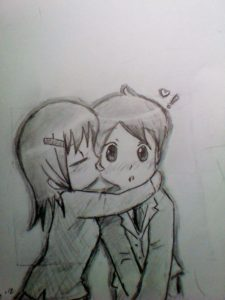 Nice Love Sketch Drawing for Beginners Cute Love Drawings | View Cute Anime Love Sketch Drawing On Tumblr Images