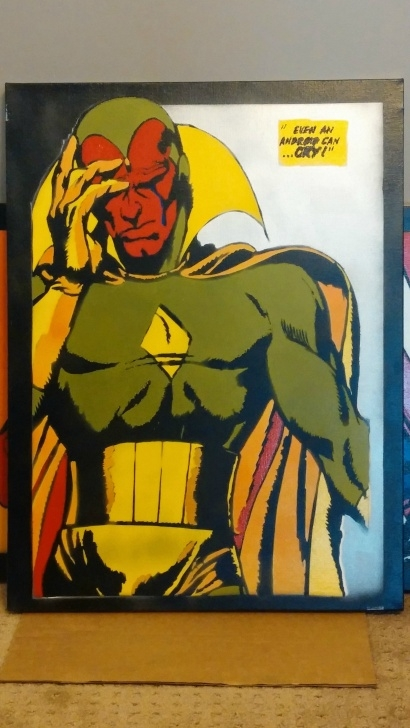Nice Marvel Stencil Art Courses This Is Original Stencil And Spray Paint Art. Created From The Picture