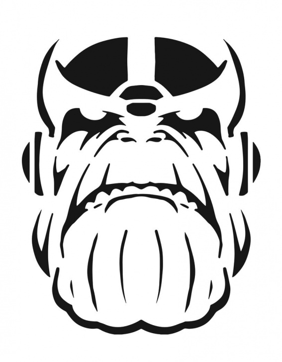Nice Marvel Stencil Art Techniques for Beginners Strike Fear Into Everyone This Halloween -- Carve A Pumpkin Into Image