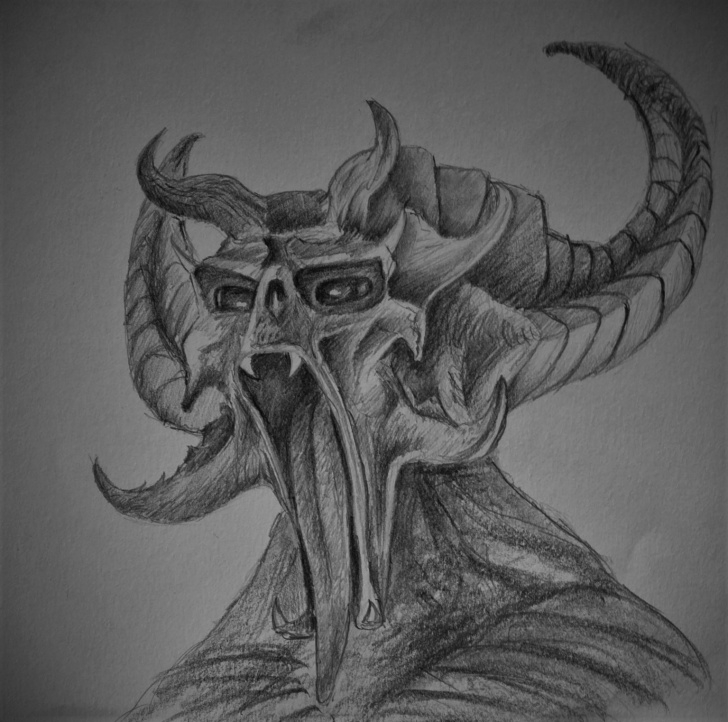 Nice Monster Pencil Drawing Tutorials Pencil Drawing-Monster — Steemit Image