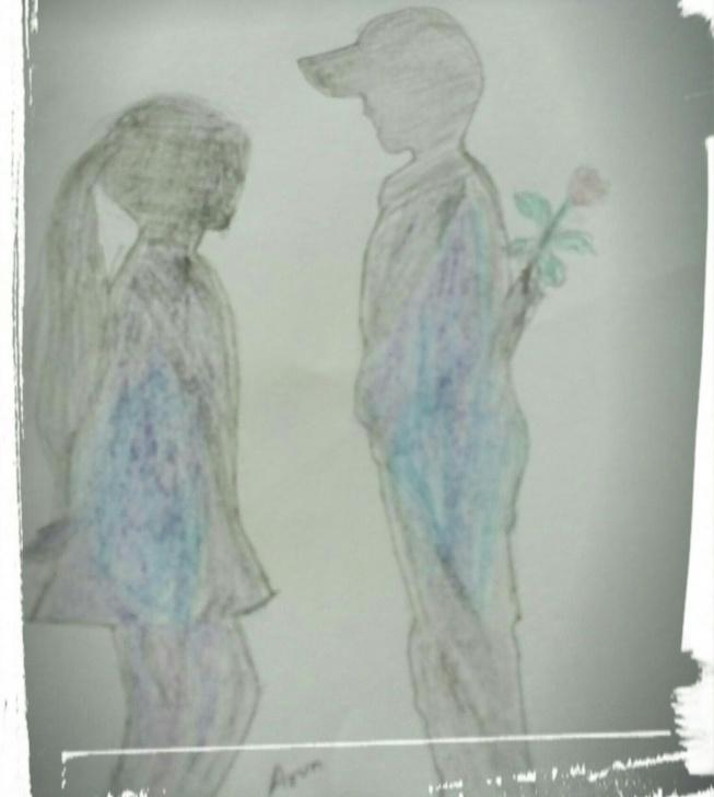 Nice Pencil Drawing Boy And Girl Courses Girl And Boy Innocent Love Pencil Drawing | Pencil Drawing Pics