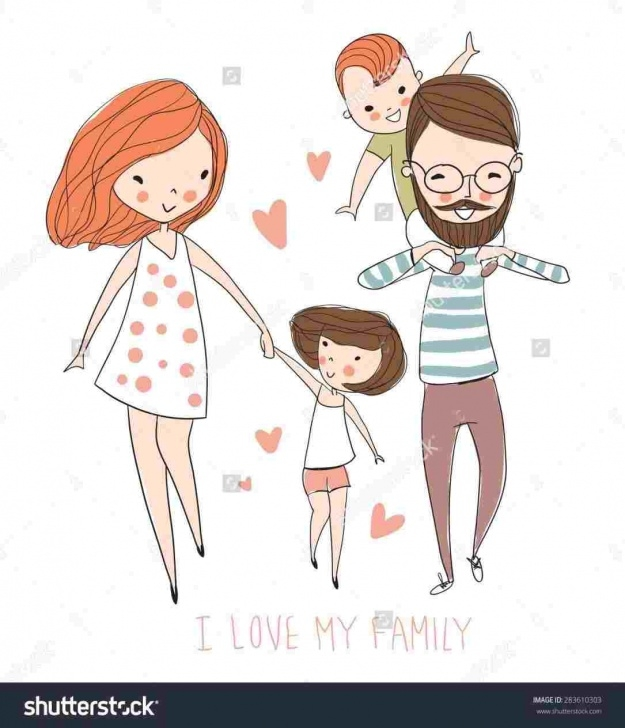 Nice Pencil Drawings Of Happy Family Free Happy Family Drawing At Paintingvalley | Explore Collection Of Pictures