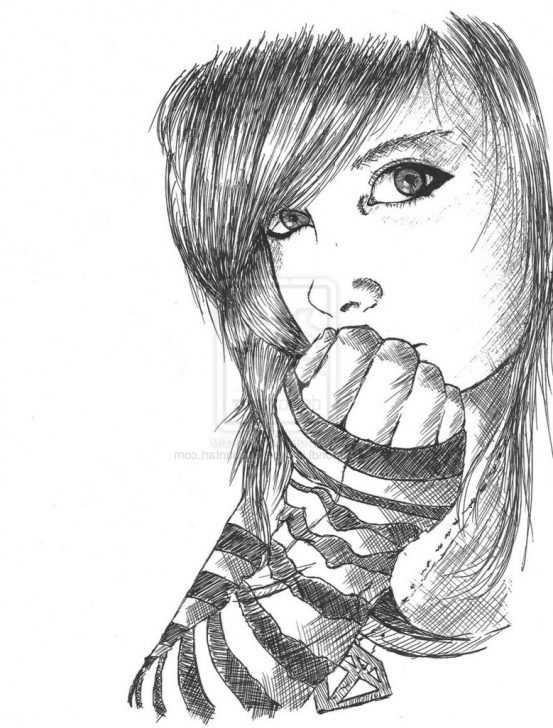 Nice Sad Drawings In Pencil Tutorials Sad Love Wallpaper Boys - Pencil Loneliness Sad Drawings (#924978 Image