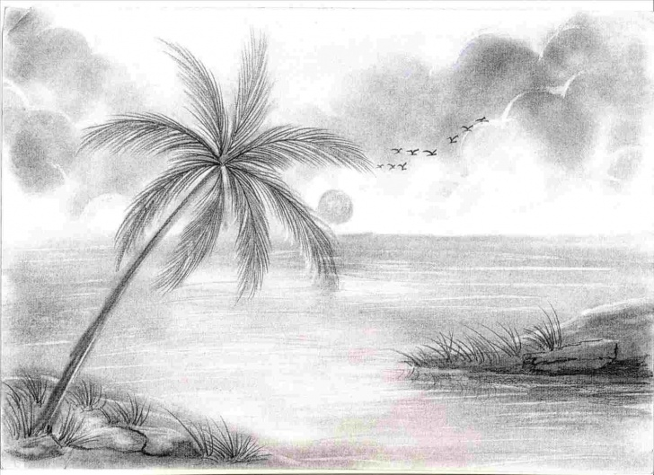 Nice Sketches Of Nature Beauty Free Nice Pencil Sketch Of Natural Beauty Sketches Of Nature Beauty Image