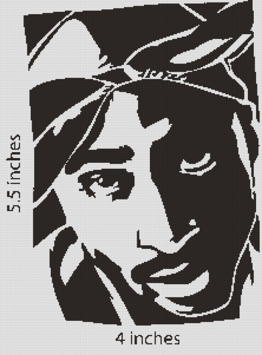 Nice Tupac Stencil Art Step by Step Pin By Kyja Beth On A R T | Stencil Art, Stencils, Art Photos
