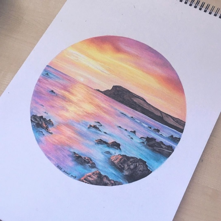 Nice Watercolor And Colored Pencil Illustration Lessons Watercolor Pencil Drawings At Paintingvalley | Explore Picture