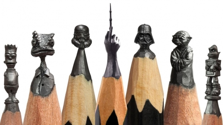 Outstanding Art On Pencil Lessons Amazing Art On Pencil. Part I / Incredible Pencil Sculptures Photo