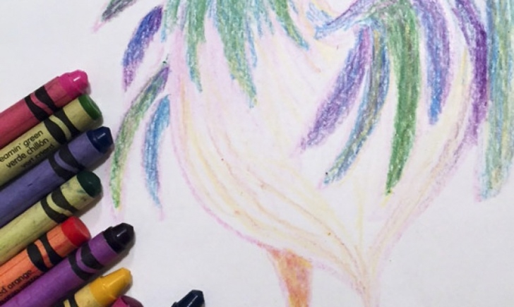 Outstanding Beautiful Crayon Drawings Free Crayons: Nope, Not Just For Kids Pic