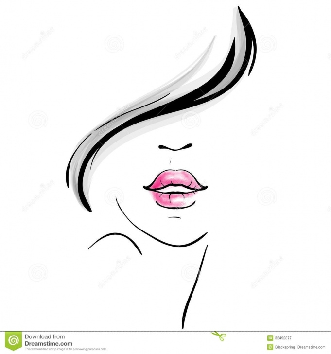 Outstanding Beautiful Lady Sketch Techniques Young Beautiful Woman Portrait Sketch Stock Vector - Illustration Of Photos
