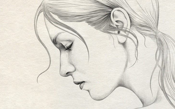 Outstanding Beautiful Pencil Drawings Art Tutorials Painting Pencil Sketch Pencil Sketch Beautiful Art Beautiful Girl Pic