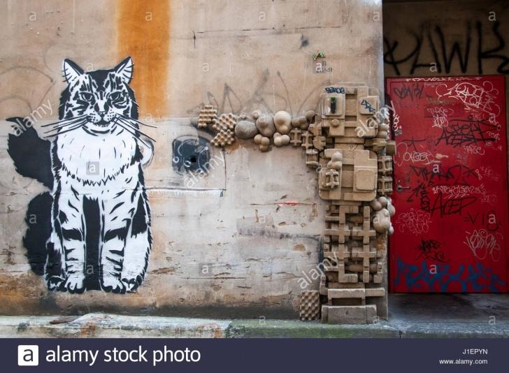 Outstanding Cat Graffiti Stencil Courses Cat Stencil Stock Photos & Cat Stencil Stock Images - Alamy Picture