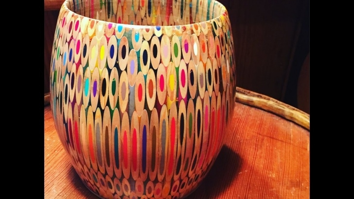 Outstanding Colored Pencil Carving Simple Colored Pencil Bowl Build Images