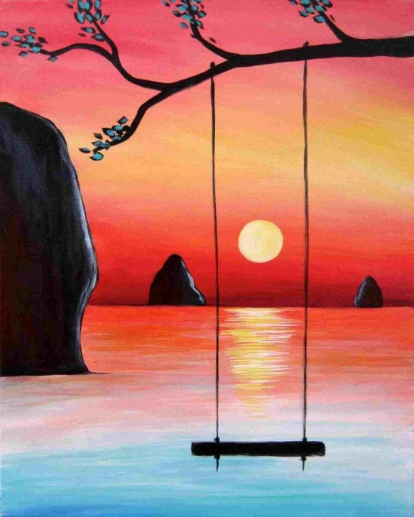 Outstanding Colored Pencil Sunset Free Pictures Wwwpicturesbosscomrhpicturesbosscom Colored Sunset Image