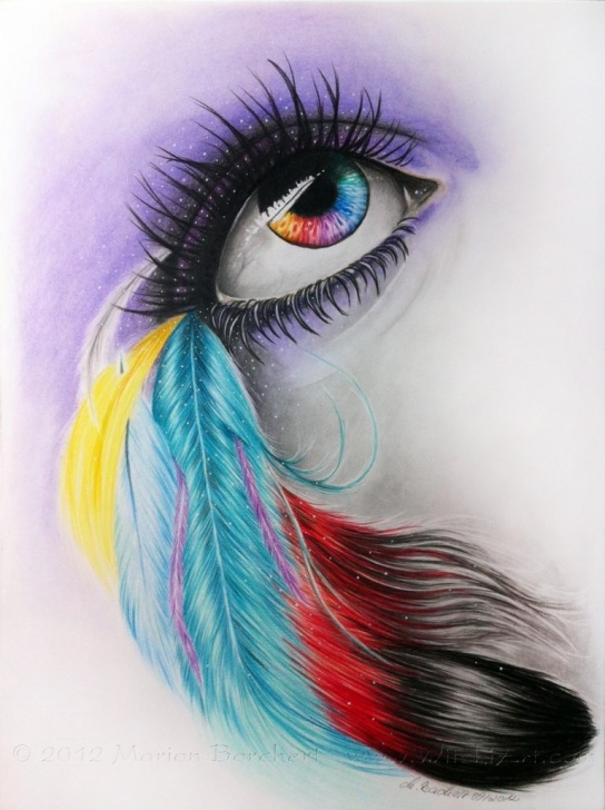 Outstanding Cool Colored Pencil Drawings Free Cool Colored Pencil Drawings And Coloured Latest Sketches Photos Of Pictures