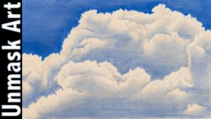 Outstanding Drawing Clouds With Pencil Ideas Clouds | Colored Pencil Drawing Time Lapse Pictures