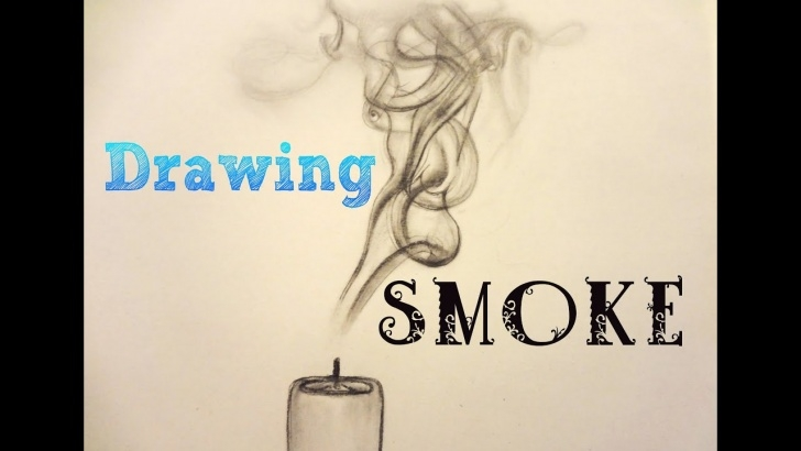 Outstanding Drawing Smoke With Pencil Tutorial How To Draw * Smoke * With A Pencil Pics