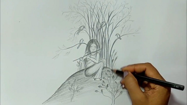 Outstanding Easy Sketches To Draw With Pencil For Beginners Tutorial Cool Easy Drawing - Easy Sketches To Draw With Pencil Photos