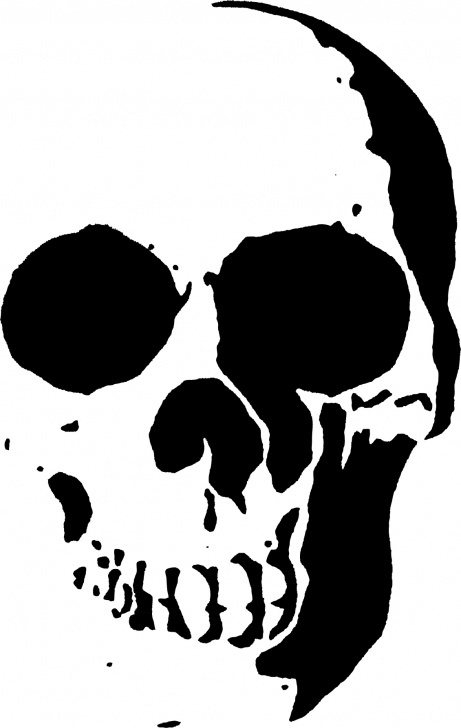Outstanding Free Stencil Art Courses 23 Free Skull Stencil Printable Templates | Guide Patterns Pic