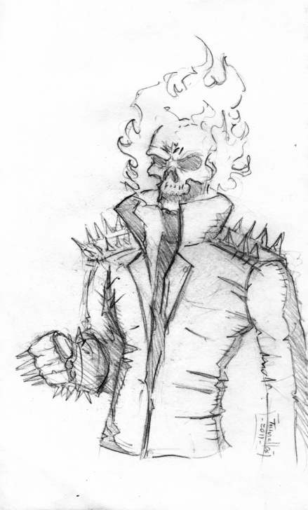 Outstanding Ghost Rider Pencil Sketch Techniques Ghost Paintings Search Result At Paintingvalley Pics