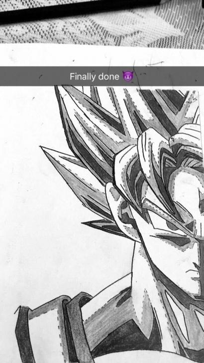 Outstanding Goku Pencil Sketch Free Goku Sketching | Tattoo,sketching,art,pencil,shading | Sketches Pics