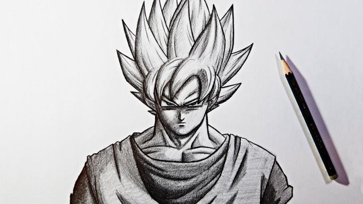 Goku Pencil Sketch